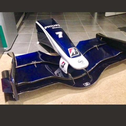 Williams FW30 nose cone Nico Rosberg