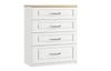 Maysons Sorrento 4 Drawer Chest (with one deep drawer)