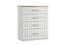 Maysons Portofino 4 Drawer Chest (with one Deep Drawer)