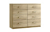 Maysons Modena 8 Drawer Twin Chest