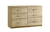 Maysons Modena 6 Drawer Twin Chest