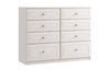 Maysons Ravello 8 Drawer Twin Chest (inc. two deep drawers)