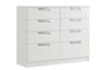 Maysons Milan 8 Drawer Twin Chest