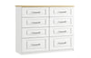 Maysons Sorrento 8 Drawer Twin Chest
