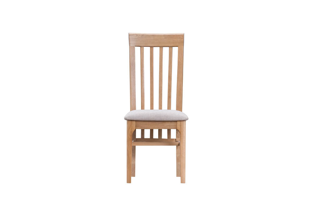 Manor Collection Marlborough Slat Back Dining Chair (Cream)