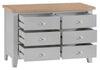 Manor Collection Lydiard 6 Drawer Chest