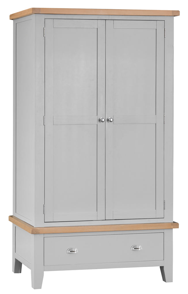 Manor Collection Lydiard 2 Door 1 Drawer Wardrobe
