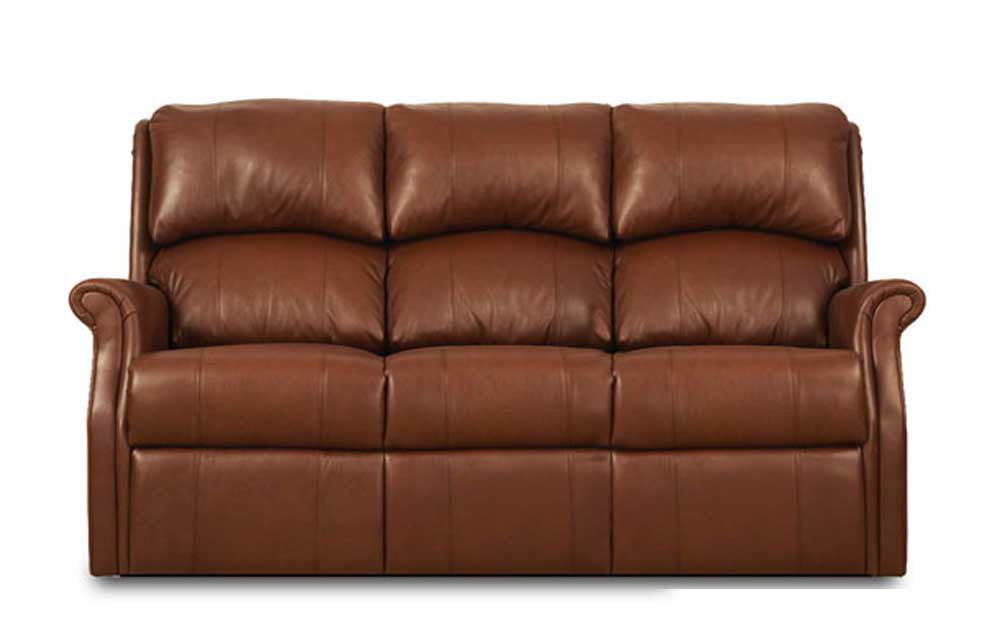 Celebrity Regent Fixed 3 Seater Sofa (Leather)