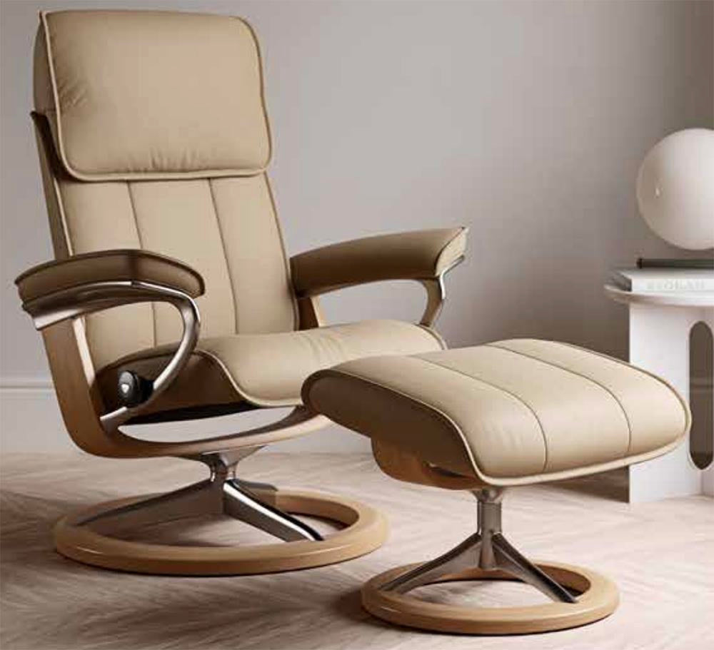 Stressless Admiral Chair (M) (Signature Base) - Promotion