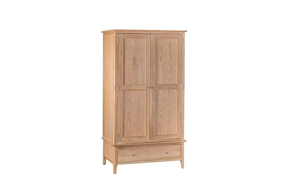 Manor Collection Marlborough 2 Door 1 Drawer Wardrobe