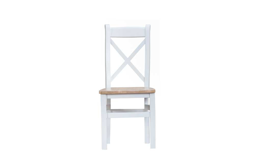 Manor Collection Lydiard Cross Back Wooden Chair