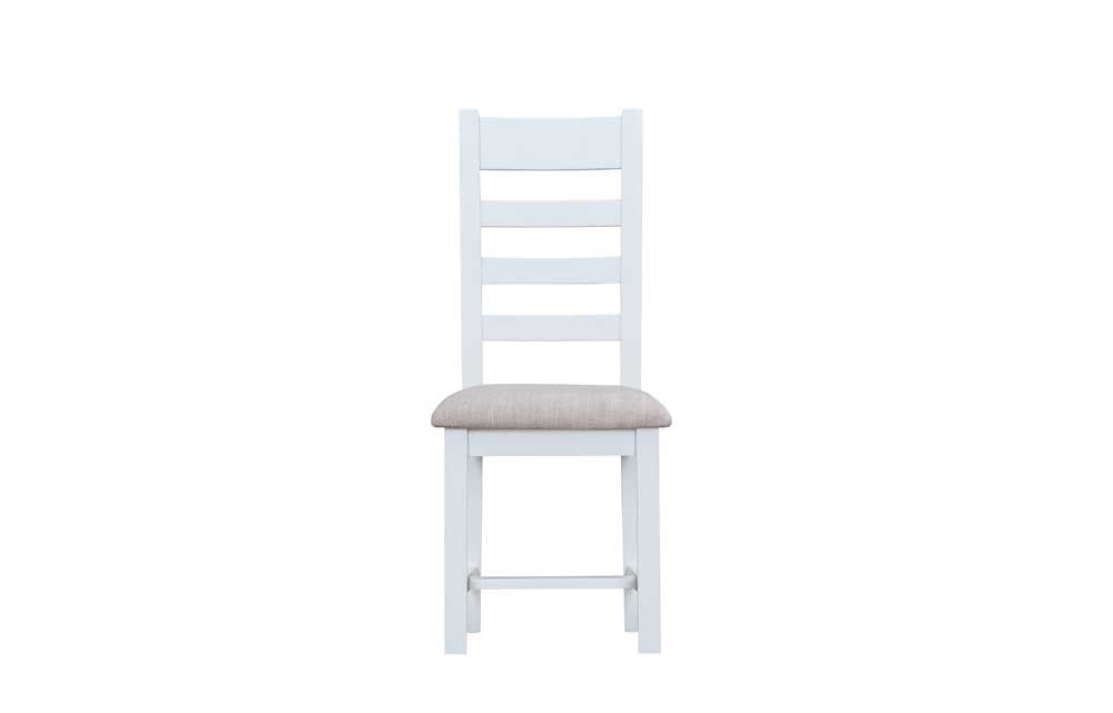 Manor Collection Lydiard Ladder Back Chair Fabric Seat