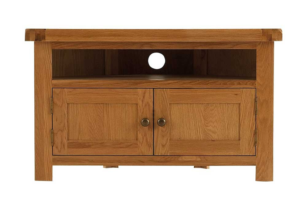 Manor Collection Lockwood Oak Corner TV Unit