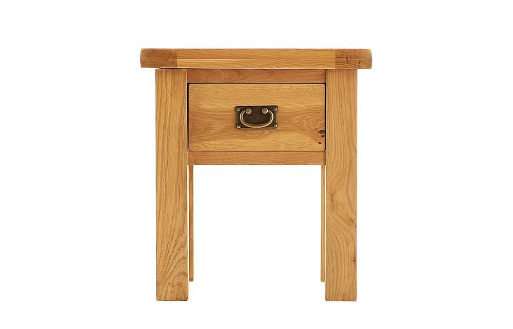 Manor Collection Lockwood Oak Lamp Table