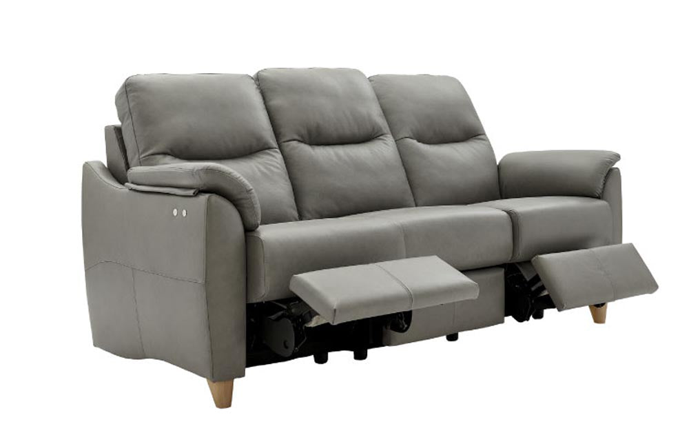 G Plan Spencer 3 Seater Sofa Power Recliner (Leather)