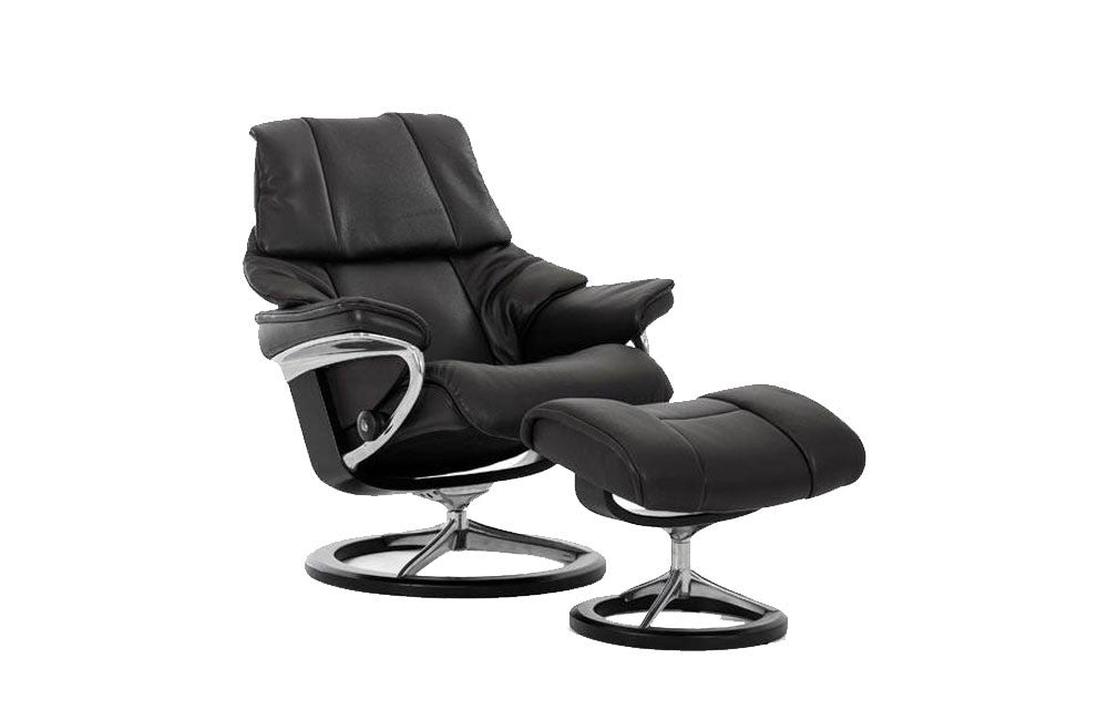 Stressless Reno Recliner Chair with Footstool (M)