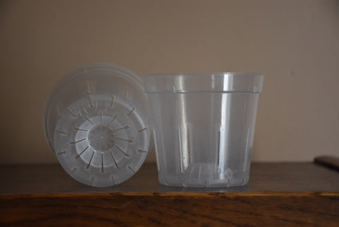 3 + 3/8 inch Plastic Pot - Ravenvision Orchid Supplies