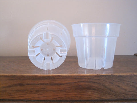 4.5 inch Plastic Pot - Ravenvision Orchid Supplies