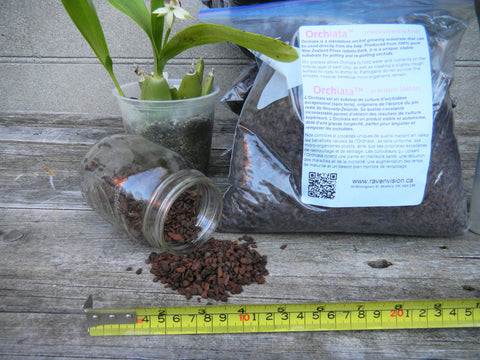 Orchiata™ bark - percision (extra fine) - Ravenvision Orchid Supplies - 1