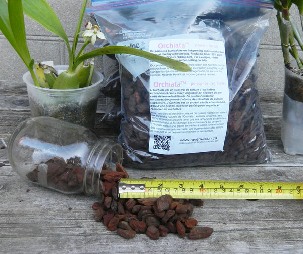 Orchiata™ bark - power+ (large) - Ravenvision Orchid Supplies - 1