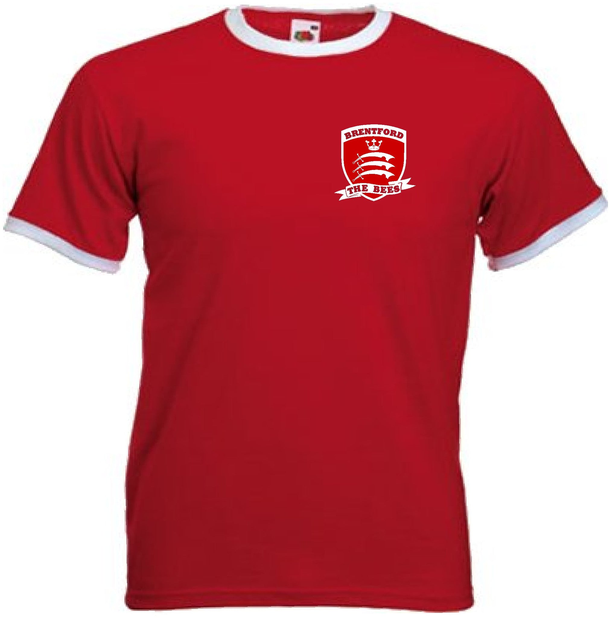 6e2c0ee9144 Brentford FC Football Club Middlesex Retro Soccer T-Shirt