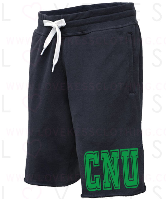 Boys College College Initial Basketball Sweat Shorts with adjustable band - lovekess - clothing