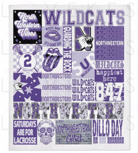 Load image into Gallery viewer, CUSTOMIZE YOUR OWN Custom College SPORTS Spirit Fleece Blanket by LoveKess Clothing - lovekess - clothing