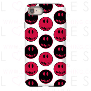 Happiest In College Smiley Phone Case - lovekess - clothing