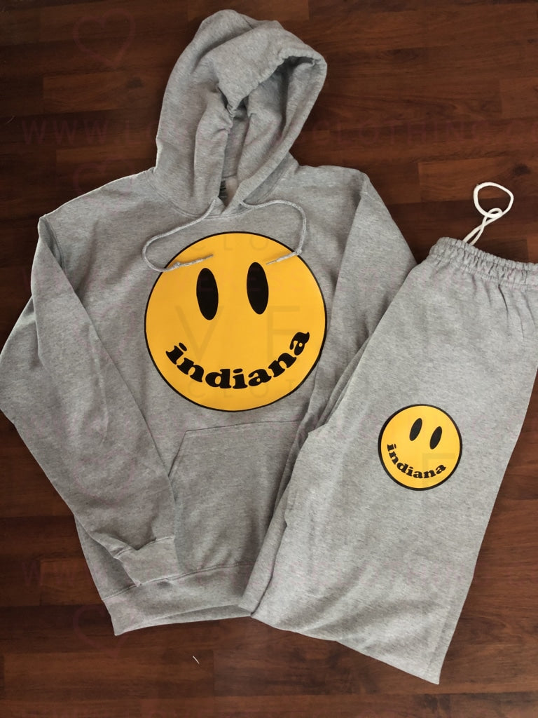 Happiest in College Sweats Set - lovekess - clothing