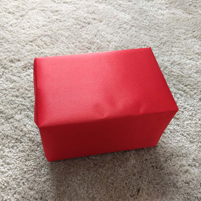 Satin Red Gift Wrap