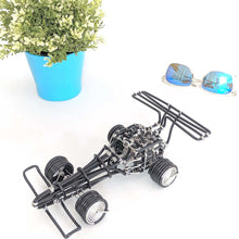 Load image into Gallery viewer, hand-crafted Wire-Art Formula-1 Car
