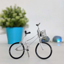 Load image into Gallery viewer, Miniature Wire Art Bicycle C hand-crafted from aluminium wire