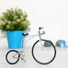 Load image into Gallery viewer, Miniature Wire Art Antique Bicycle Metal hand-crafted from aluminium wire