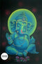UV Glow Painting Lord Ganesha