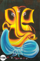 UV Glow Painting Lord Ganesha Abstract