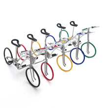 Load image into Gallery viewer, Miniature Wire Art Bicycle B hand-crafted from aluminium wire