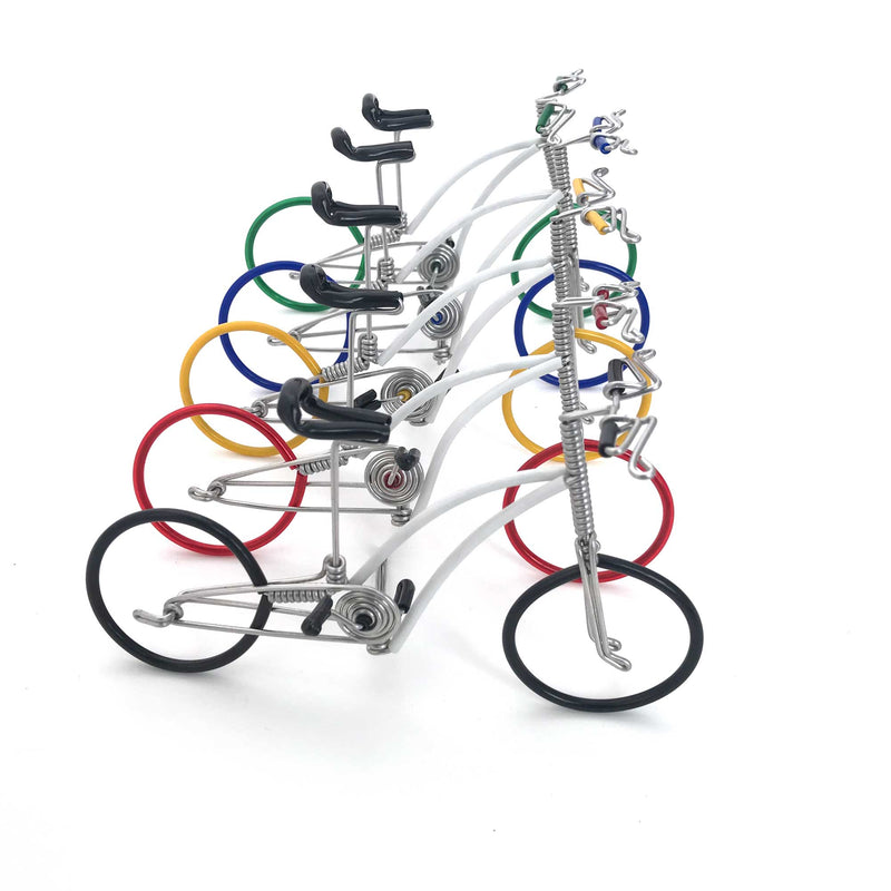 hand-crafted Wire-art bicycle large