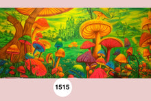 Load image into Gallery viewer, UV Glow Painting Mushroom Land