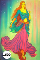 UV Glow Painting Woman