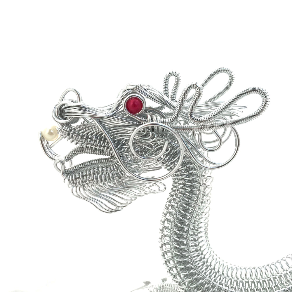 Buy Miniature Wire Art Dragon hand-crafted from aluminium wire ...