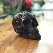Load image into Gallery viewer, Skull Ashtray made from resin
