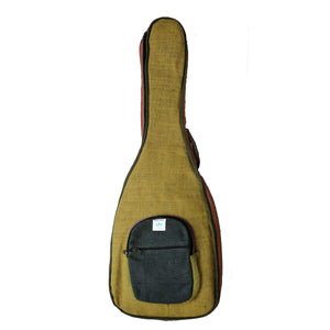 HEMP Guitar Case made from 100% natural, organic and eco-friendly handwoven HEMP