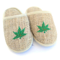 HEMP Slippers made from 100% natural, organic and eco-friendly handwoven HEMP