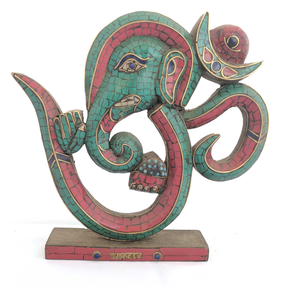 Om & Ganesh table decor