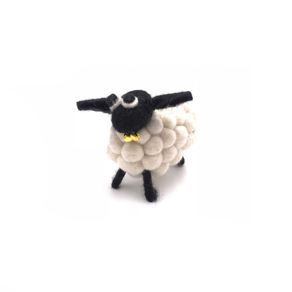 felt sheep for home decor