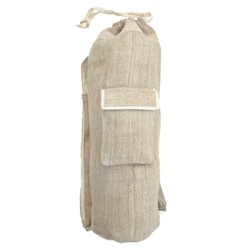 Yoga Mat Bag made from 100% pure hand woven hemp