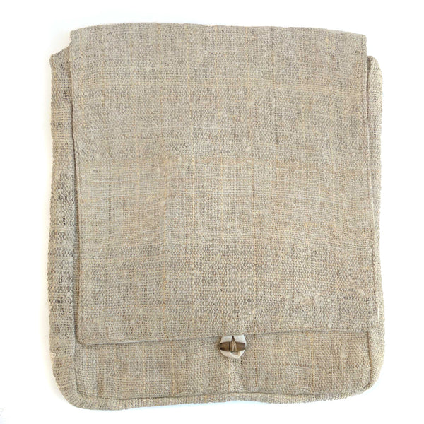 HEMP Messenger Bag made from 100% natural, organic and eco-friendly handwoven HEMP