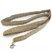 HEMP Dog Leash made from 100% natural, organic and eco-friendly handwoven HEMP