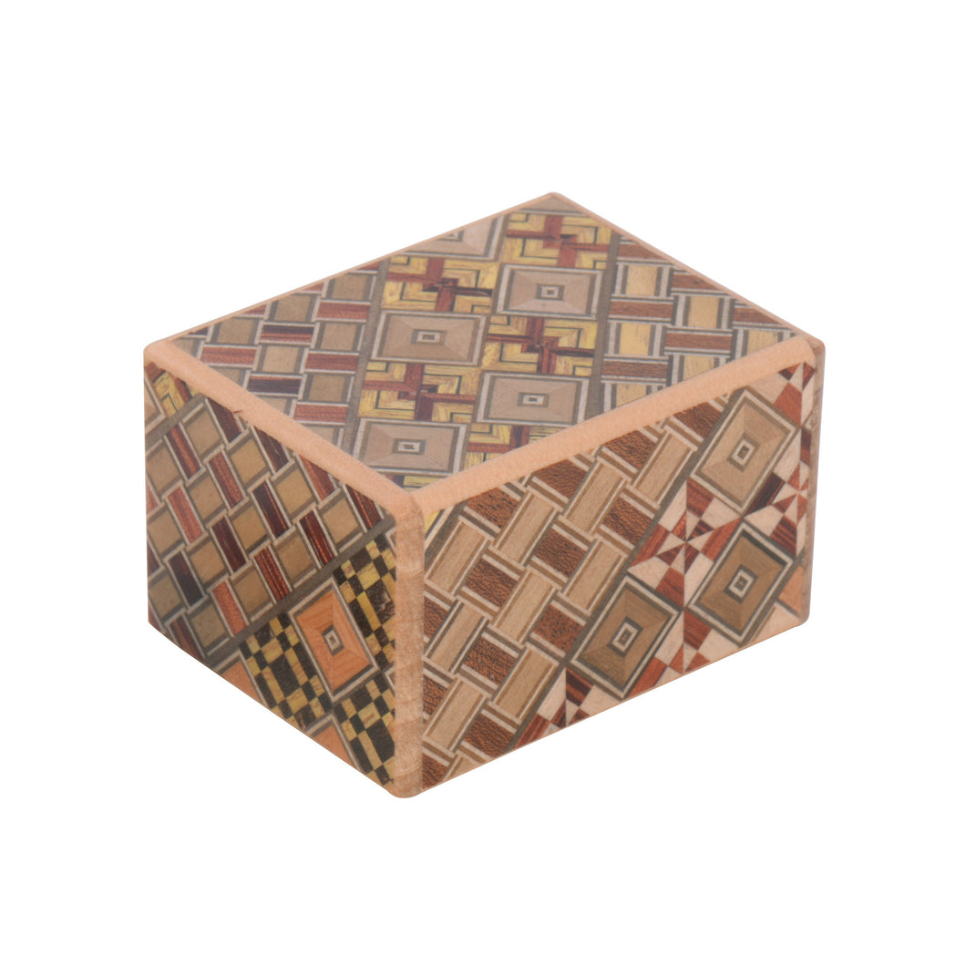 Yosegi Puzzle Box 5 Steps