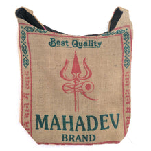 Load image into Gallery viewer, Jute Shoulder Bag Mahadev Jhola